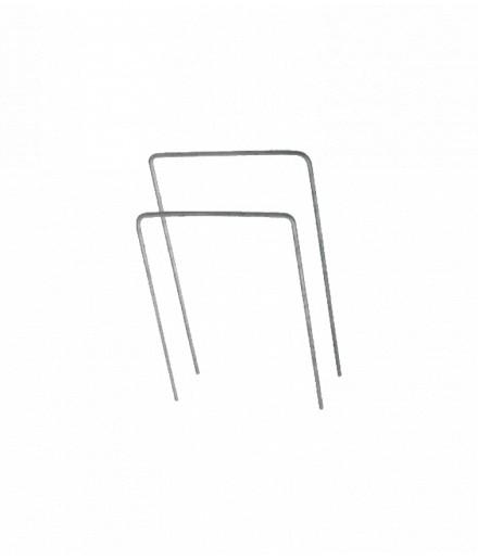 U-shaped metal pin
