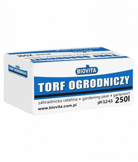 Torf ogrodniczy kwaśny duże opakowanie