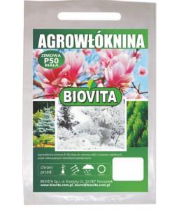 White winter agro-nonwoven crop cover P-50