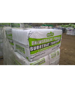 Universal substrate with absorbent large packaging