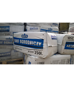 Torf ogrodniczy kwaśny 0-20mm pH 3,2-4,5 PALETA