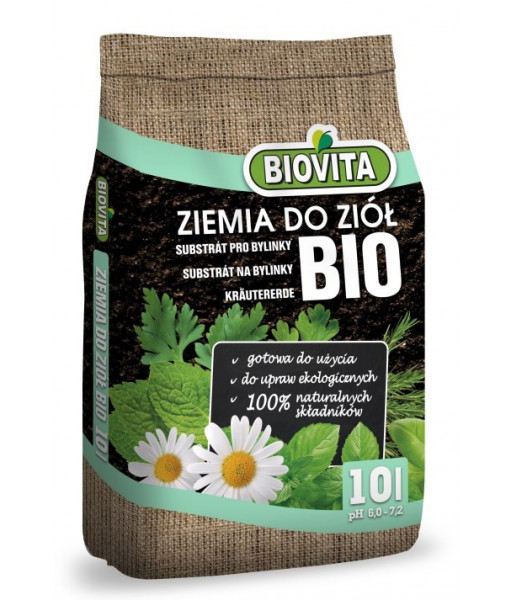 Soil for herbs BIO