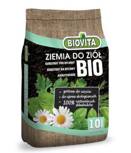 Gotowe podłoże BIO Ziemia do ziół Biovita 10L