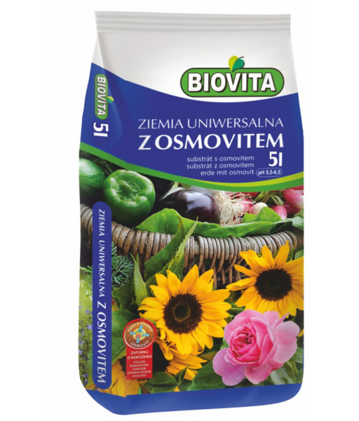 Universal soil with Osmovit