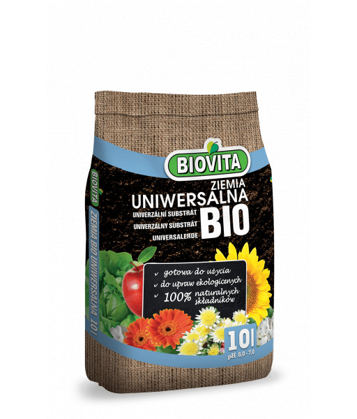 Gotowe podłoże BIO Ziemia uniwersalna Biovita 50L