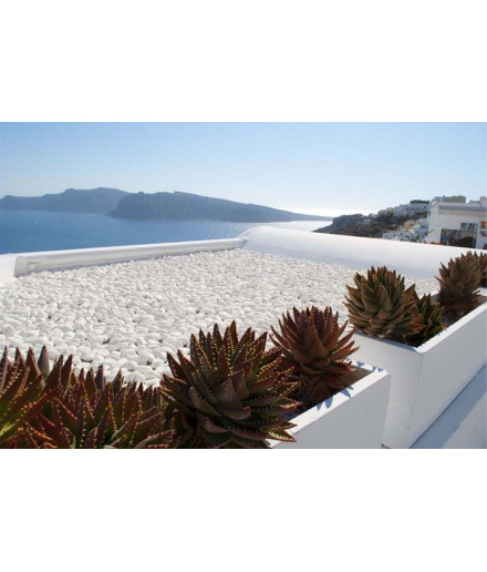 EXTRA WHITE pebbles 10-30mm