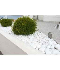 EXTRA WHITE pebbles 30-60mm