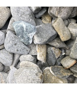 FISH GRAY pebbles 30-60mm