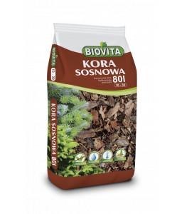 Kora mielona sosnowa BIOVITA 10-30 mm 80L