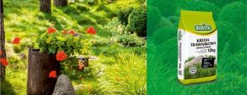 Kreda trawnikowa granulowana - Prosty sposób na piękny trawnik!